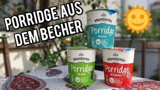 Mondamin Porridge im Test | Wie schmecken sie? | FoodLoaf
