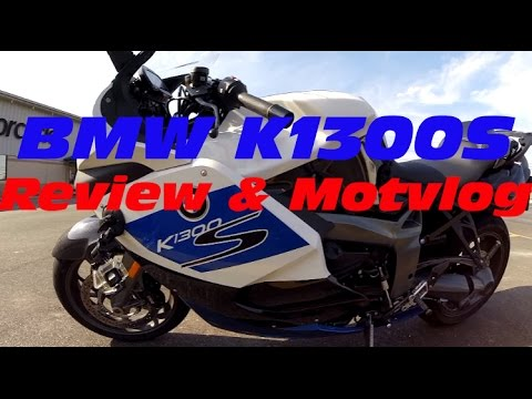 BMW K1300S HP: Review, Motovlog and ZX14R & Hyabusa racing!