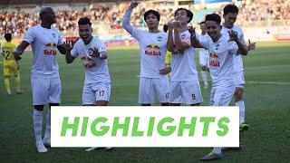 Highlights   HAGL - Nam Định   Nghẹt thở chiến thắng thứ 5 liên tiếp tại V.League 2021   HAGL Media