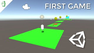 Build Your First 3D Game in Unity   Unity Beginner Tutorial