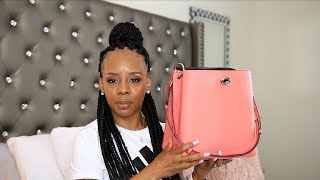 COACH CHARLIE BUCKET BAG REVIEW!!!!