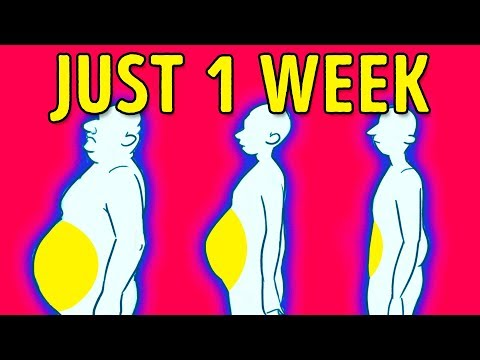 4 Steps to Lose Belly Fat in 1 Week