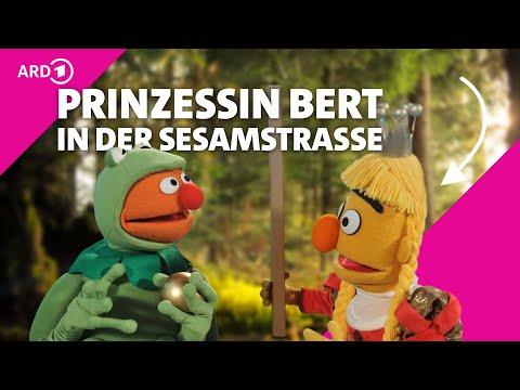Der Froschkönig mit Ernie und Bert  - Sesamstraße - NDR - ARD