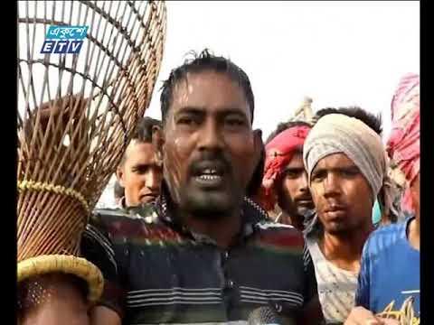চলনবিলাঞ্চলে চলছে গ্রামবাংলার ঐতিহ্য 'বাউত উৎসবে'