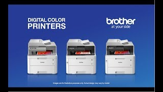 Brother MFC-3770CDW Compact Wireless Digital Color All-in-One Inkjet Printer