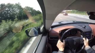 Driving the Maserati Levante S  270 km/h - Maserati Summertour 2016