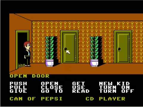 Maniac Mansion NES Walkthrough