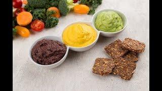 ТОП-3 веганских соуса: из авокадо, оливок и морковный с кешью | Рецепты Веган Vegan | Яна-Вегана