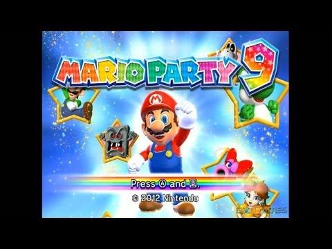 Mario Party 9 - Gameplay Wii (Original Wii)