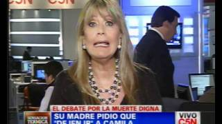 C5N  SALUD  EL DEBATE POR LA MUERTE DIGNA  PARTE 1