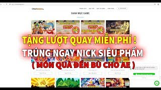 Ngọc Rồng Online - Tặng Lượt Quay Đền Bù Cho Ae Ngọc Rồng !