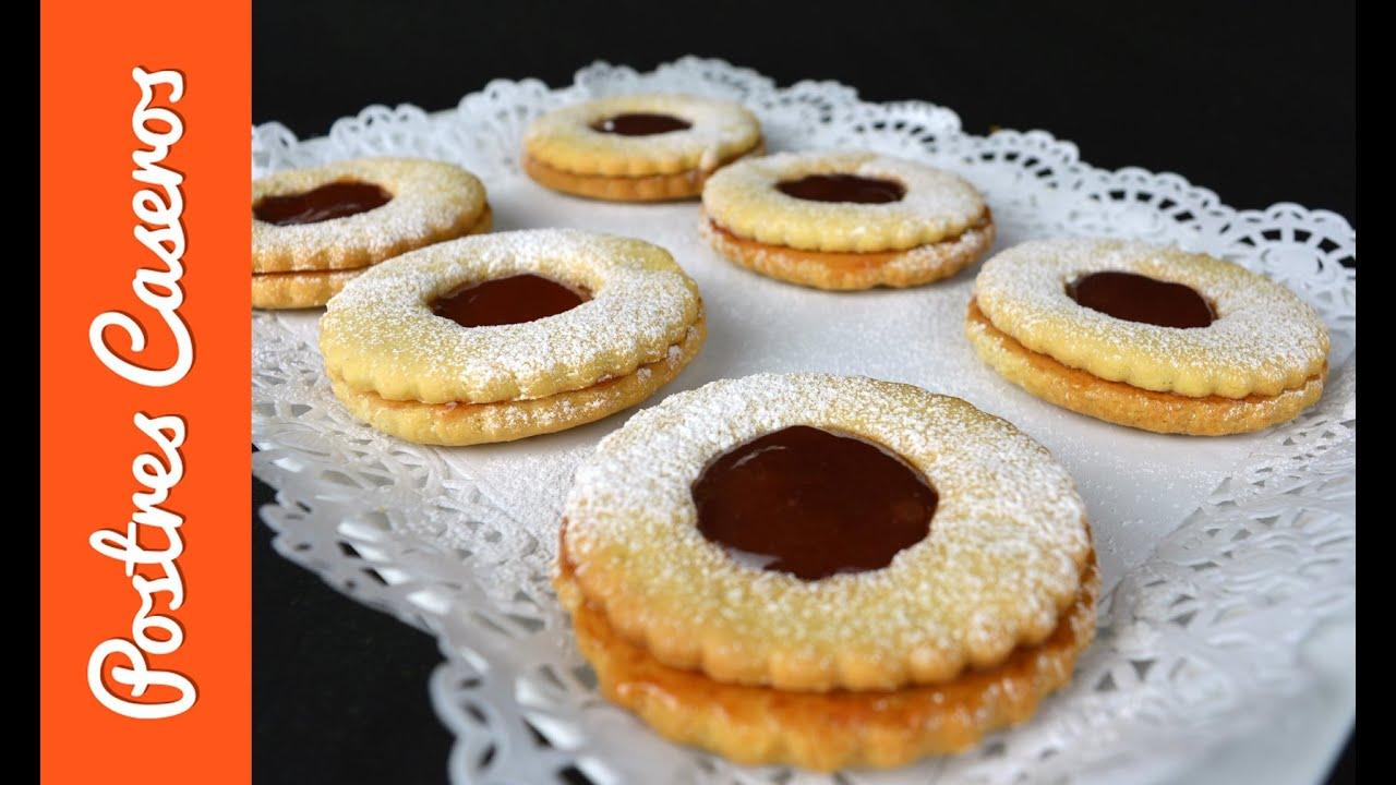 Galletas de mantequilla rellenas con mermelada | Javier Romero