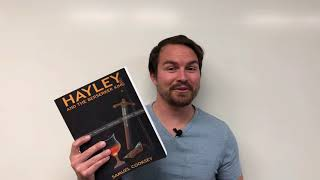 Why is the first edition of Hayley and the Berserker King so big?