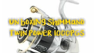 Shimano twin power 15 1000 pgs