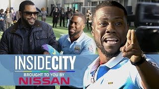 KEVIN HART & ICE CUBE PENALTY KICKS! | Inside City 178 - dooclip.me