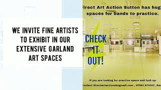Direct Art Action UK, Gallery and Art Center in North Birmingham invites Contemporary Fine Artists t