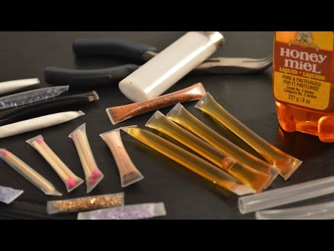 How to Make Waterproof Straw Containers