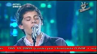 """A Voz de Portugal 6ª Gala - Salvador Seixas - """"High and dry"""""""