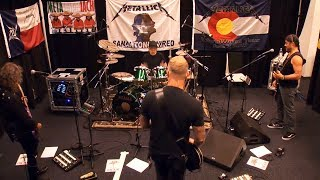 Metallica The End Of The Line Tuning Room DALLAS JUN 16 2017