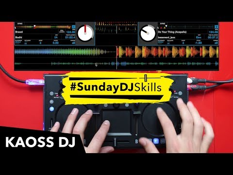 Korg Kaoss DJ – Performance Mix – #SundayDJSkills