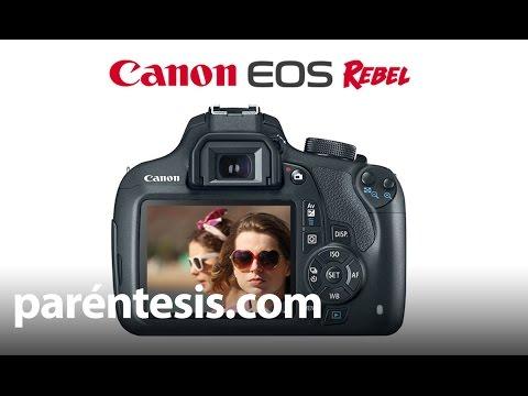 Conoce la Canon EOS Rebel T5