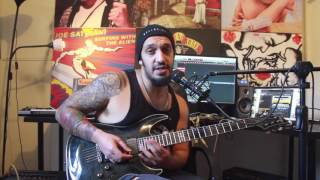How to play 'Not Ready To Die' by Avenged Sevenfold Solo Lesson w/tabs