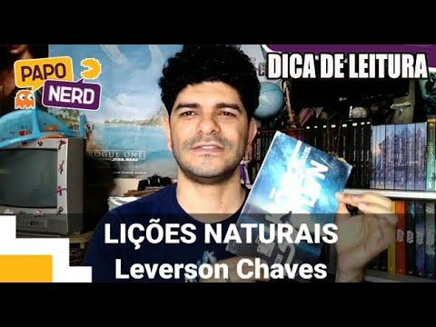 LIÇÕES NATURAIS - LEVERSON CHAVES ?? DICA DE LEITURA   #PN119