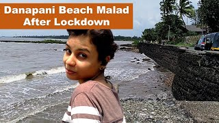 Danapani Beach Near Aksa Beach After Lockdown | Visited After 6 months, A Long Time