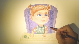 Inside Out Drawing - Baby Riley