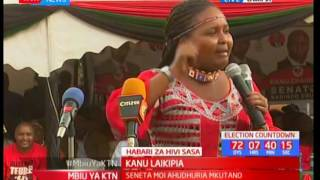 Naisuda Lesuuda shows her loyalty still in Jubilee even after jumping to KANU