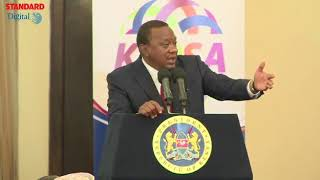 President Kenyatta clears the air, opposes amendment of the Constitution