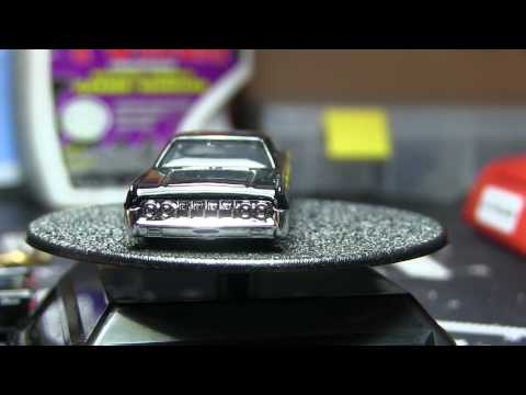 Custom Hot Wheels 64 Lincoln Continental Wheel Swap & Paint