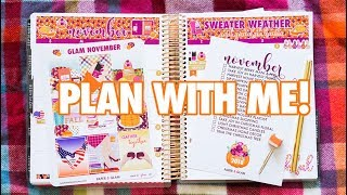 Plan With Me | November!