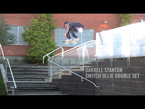 Darrell Stanton Switch Ollie Double Set Rail