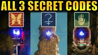Destiny 2: ALL 3 SECRET VOLUNDR FORGE CODES! | Hidden Emblems! 4th Forge! | Black Armory