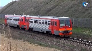 С января Между Великим Новгородом и Рогавкой будет ходить рельсовый автобус