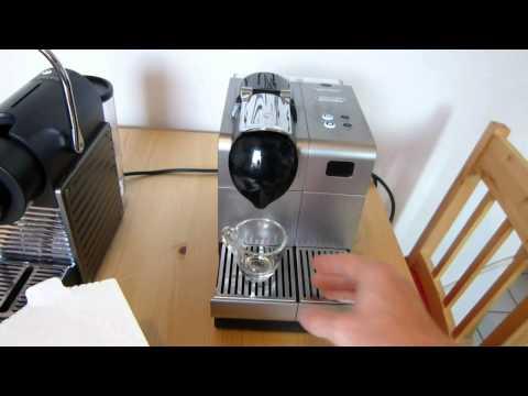 Saquella Caffé Kaffeekapseln in der Nespresso Lattissima+ Maschine