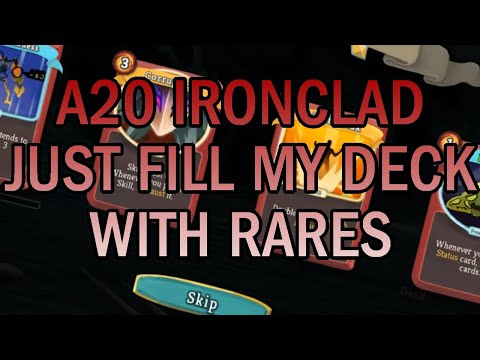 The Gift of Rares! | Ascension 20 Ironclad Run | Slay the Spire