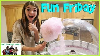 FAMILY FUN FRIDAY - GAMES, MOVIE AND TREATS / That YouTub3 Family