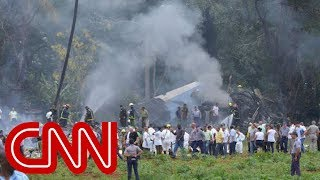 Video shows plume of smoke from plane crash - Video Youtube