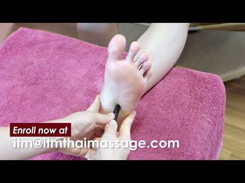ITM School Thai Foot Reflexology Massage Online Course