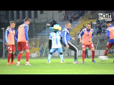 Kulisy meczu Stomil Olsztyn - Miedź Legnica