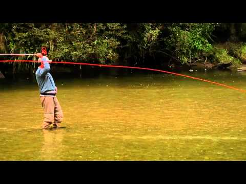 Fly casting: Eliminating Slack Line
