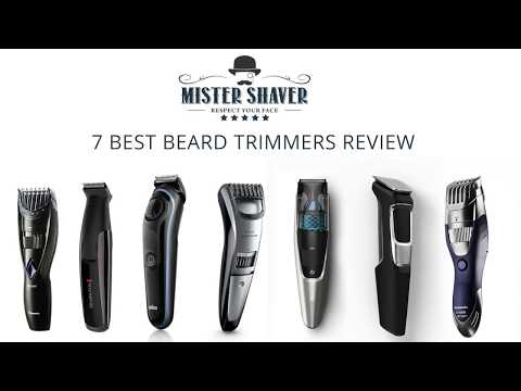 Best Beard Trimmer Review 2018. Panasonic, Remington, Braun, Philips Norelco Beard Trimers Review