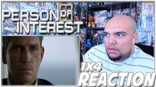 "Person of Interest Reaction Season 1 Episode 4 ""Cura Te Ipsum"" 1x4 REACTION!!!"