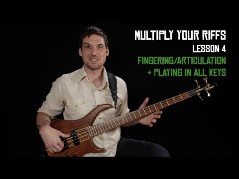 Fingering + Articulation - Multiply Your Riffs (4/6)