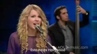 Taylor Swift - White horse LIVE subtitulado en español