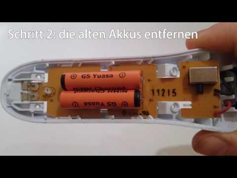Akkutausch Philips QC5130 Batteriewechsel / Akku Reparatur [deutsch]