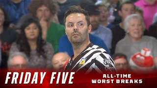 Friday Five - The Five Worst Breaks In PBA Televised Bowling History