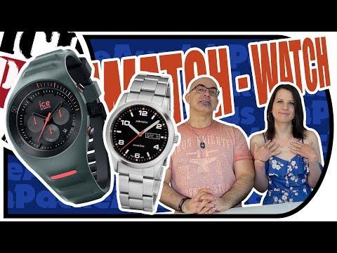 M-Watch V.S. Ice-Watch - Armbanduhren Special PART 01 - Herren Uhr - Silikon v.s. Edelstahl